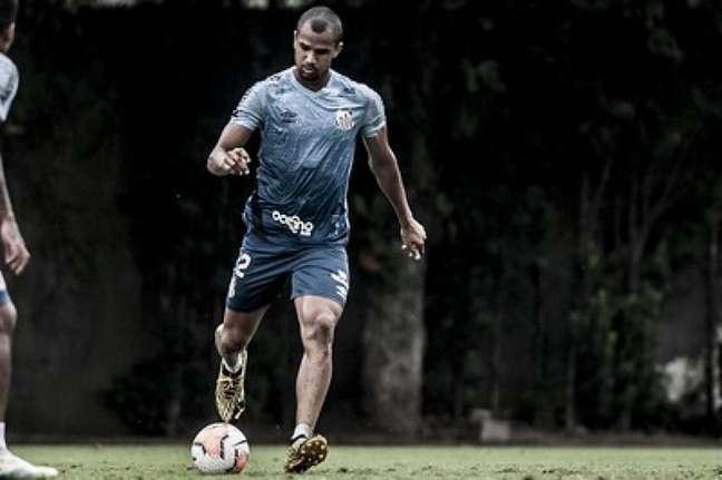 Derick já estreou pelo profissional do Santos (Crédito: Ivan Storti/SantosFC)