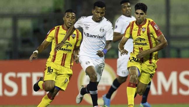 Imortal marcou, ao todo, 14 gols no time venezuelano (MANAURE QUINTERO/POOL/AFP)