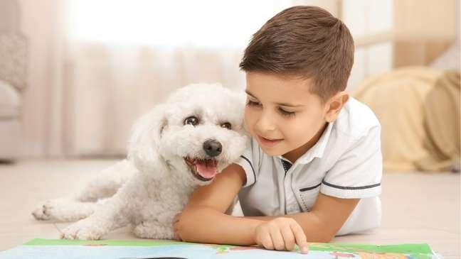 Benefícios pets para crianças