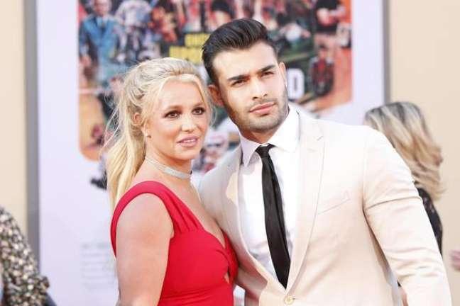 Britney e Asghari estão juntos desde 2016