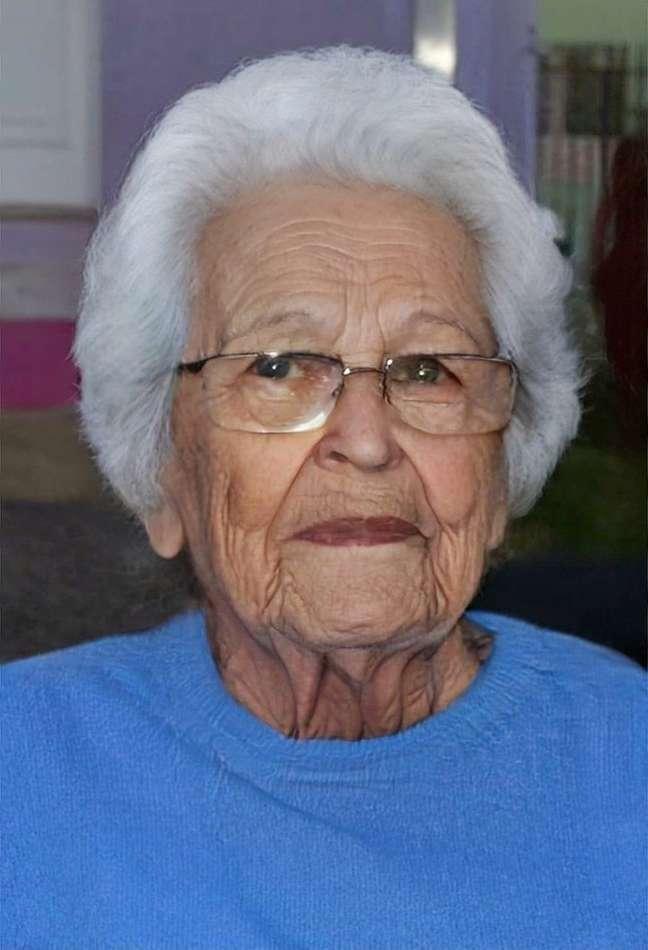 Reconstituição feita pela polícia mostra como Beatriz estaria atualmente (imagem envelhecida por efeito digital)