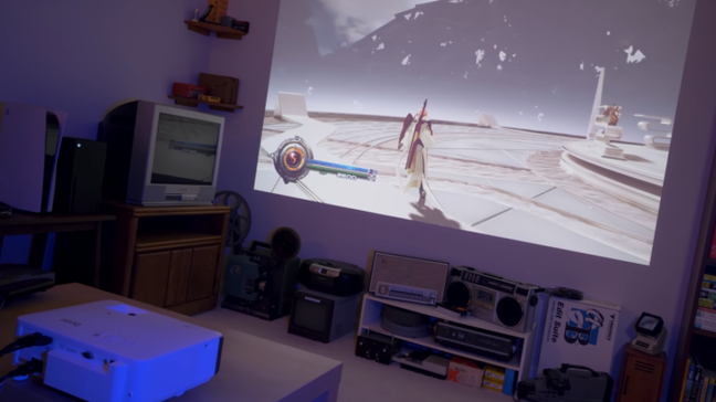 É necessário escolher bem o projetor para jogos