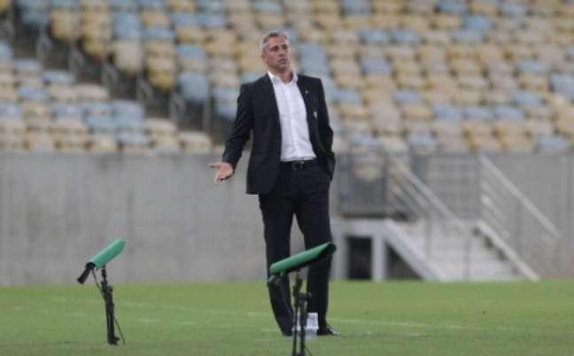 Crespo falou sobre Dani Alves (Foto: Rubens Chiri/saopaulofc.net)
