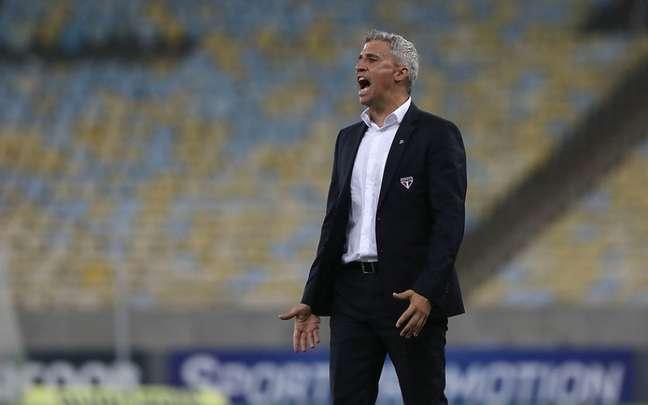 São Paulo perdeu por 2 a 1 para o Fluminense (Foto: Rubens Chiri / saopaulofc.net)