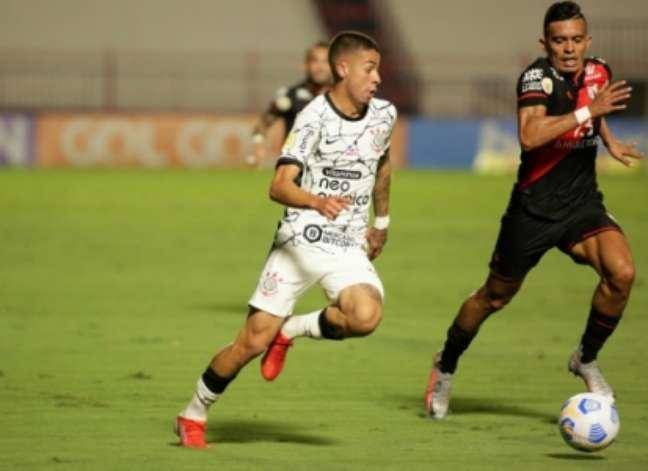 Gabriel Pereira foi elogiado (Foto: Rodrigo Coca/Ag. Corinthians)
