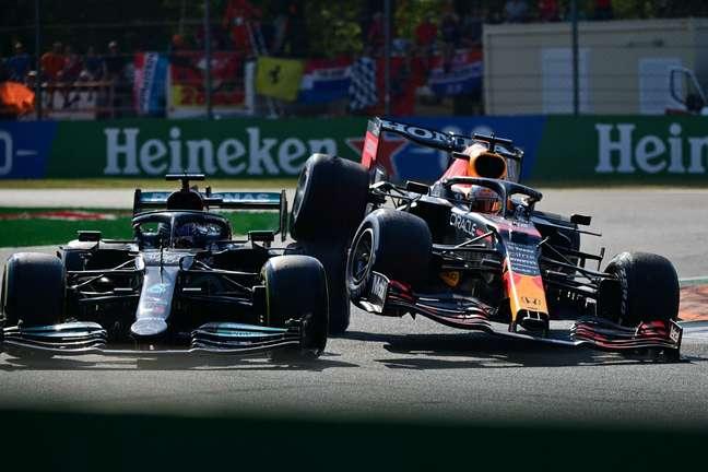 O incidente entre Hamilton e Verstappen marcou o incrível GP da Itália