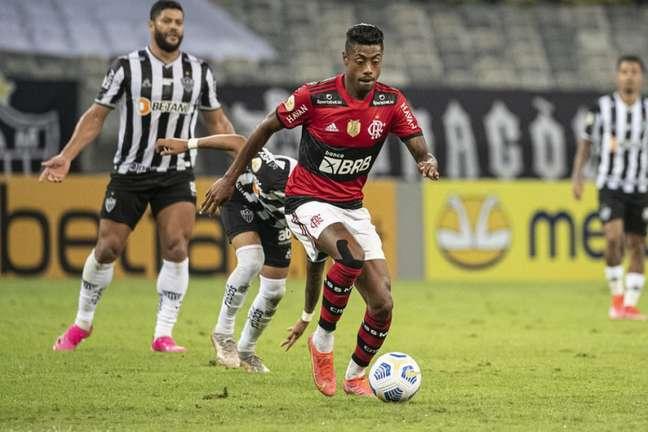 O Atlético Mineiro bateu o Flamengo por 2 a 1 no primeiro encontro dos times pelo Brasileirão 2021 (Foto: Alexandre Vidal/Flamengo)