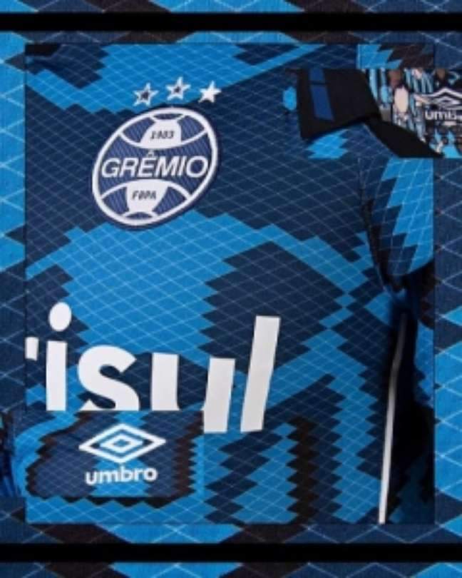 Nova terceira camisa do Grêmio  (Divulgação/Umbro)