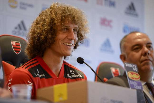 O nome de David Luiz foi publicado no BID (Foto: Alexandre Vidal/Flamengo)