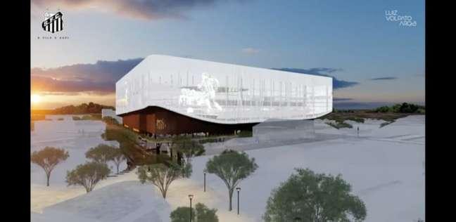 O projeto da Nova Vila Belmiro pode ser votado pelos conselheiros em novembro (Imagem: Reprodução)
