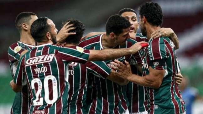 Fluminense venceu o São Paulo (Foto: Lucas Merçon / Fluminense FC)