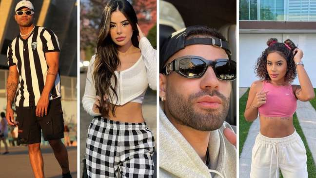 Alisson Jordan, Mah Tavares, Krawk e Sthe Matos disputam a última vaga de 'A Fazenda 13'