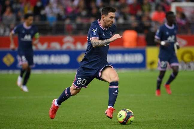 Ida de Messi ao PSG transformou franceses em favoritos na Champions (Foto: FRANCK FIFE / AFP)