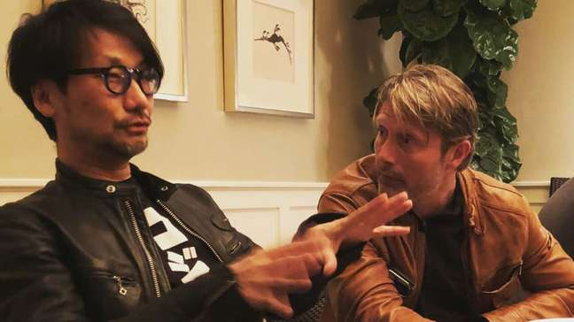 Hideo Kojima e Mads Mikkelsen