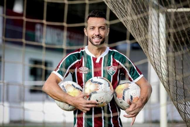 Nene foi artilheiro do Fluminense na temporada passada (Foto: LUCAS MERÇON / FLUMINENSE F.C)