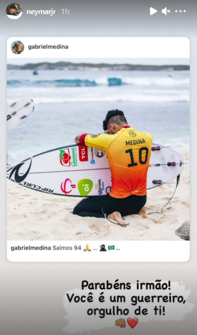 (Foto: Reprodução/Instagram/Neymar)