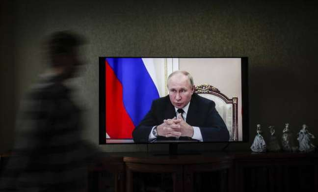 Vladimir Putin participará remotamente de seus próximos compromissos