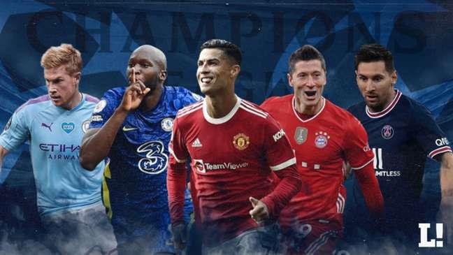 Quem vai conquistar o título da Champions League? (Arte: Lance!)