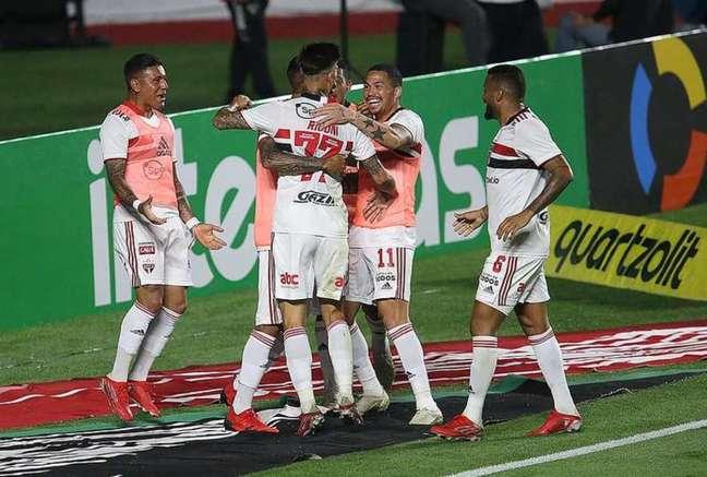 São Paulo tem o melhor ataque da Copa do Brasil (Foto:: Rubens Chiri/saopaulofc.net)