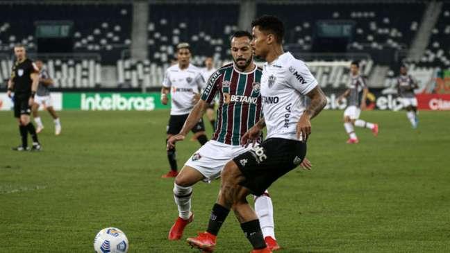 Primeira partida foi com vitória do Atlético-MG sobre o Fluminense por 2 a 1 (Foto: Lucas Merçon/Fluminense FC)