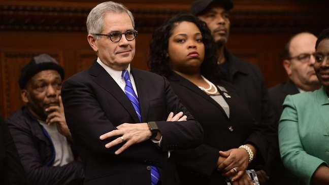 Larry Krasner, eleito procurador distrital da Filadélfia em 2017, adotou uma nova abordagem para a justiça criminal