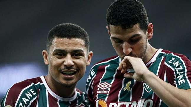 Nino é um dos representantes do Fluminense na seleção da rodada (Foto: Lucas Merçon / Fluminense FC)