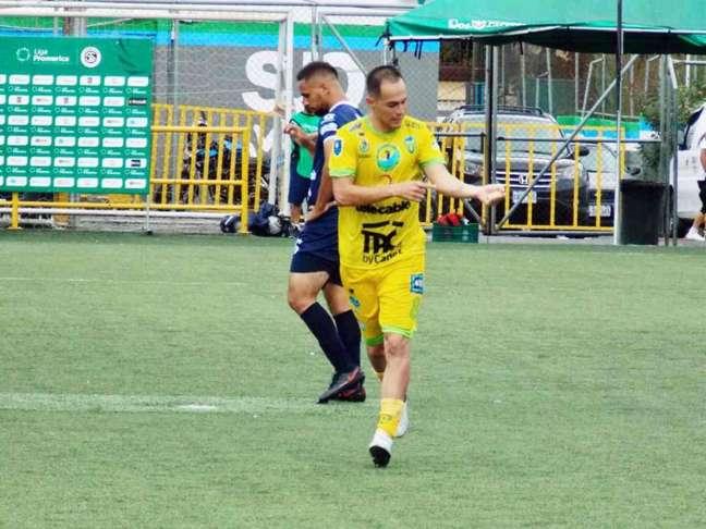 Raul VIdal marcou na Costa Rica (Foto: Divulgação/Clube)
