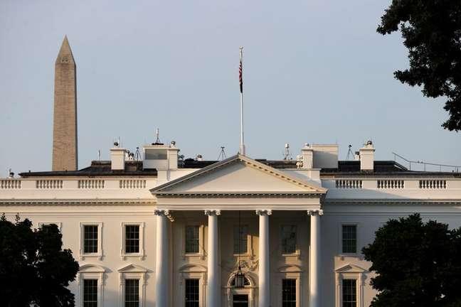 Visão geral da Casa Branca em Washington 15/07/2021.  REUTERS/Jonathan Ernst/File Photo