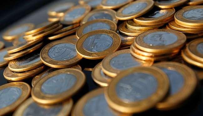 Moedas de reais 15/10/2010 REUTERS/Bruno Domingos