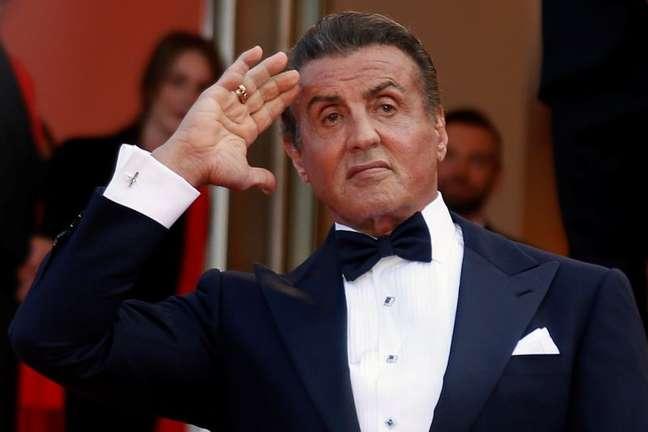 Sylvester Stallone no Festival de Cannes 25/05/2019 REUTERS/Regis Duvignau/