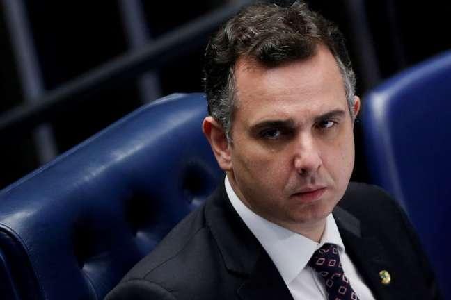 Presidente do Congresso, Rodrigo Pacheco 03/03/2021 REUTERS/Adriano Machado