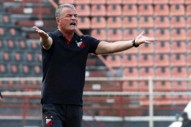 Mazola Júnior é o técnico do Itauno (Foto: Miguel Schincariol/Ituano F.C)