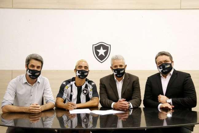 Rafael é a grande contratação do Botafogo na temporada (Foto: Vítor Silva/Botafogo)