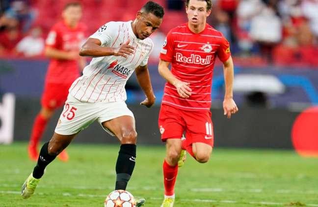 Gols da partida foram marcados em cobranças de pênalti no primeiro tempo (Foto: Reprodução/SevillaFC)