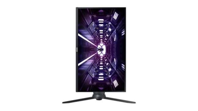 Samsung Odyssey G3 pode ser usado na vertical