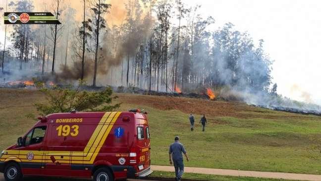 Celso Silveira Mello Filho, ex-presidente do XV de Piracicaba, morreu no acidente aéreo que vitimou também familiares do cartola (Foto: Reprodução/Corpo de Bombeiros PMESP)