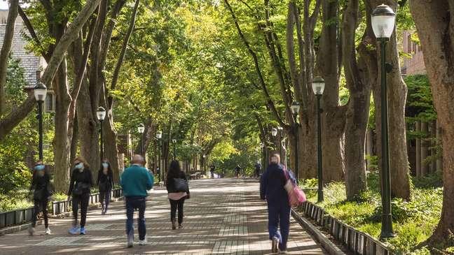O campus da Universidade da Pensilvânia era uma fuga para LaTonya