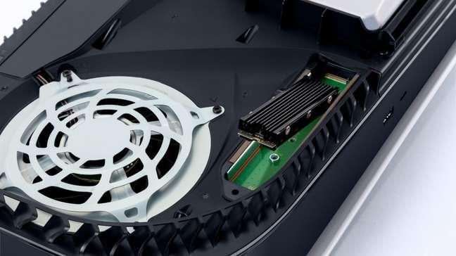 Atualização permite que SSD seja instalado no PS5