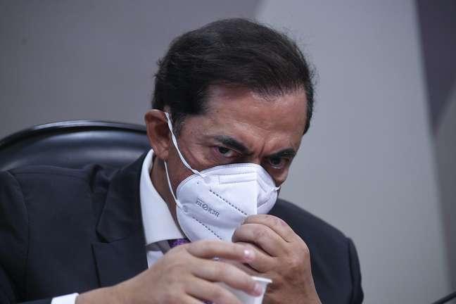 Marcos Tolentino da Silva na CPI da Covid