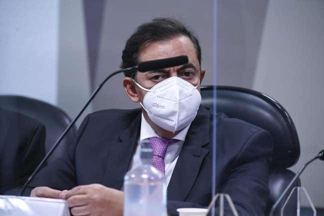 Marcos Tolentino da Silva é ouvido pela CPI da Covid