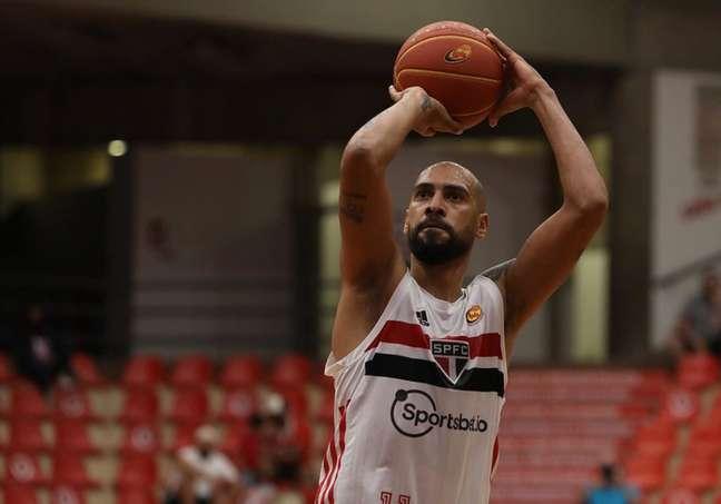Marquinhos é um dos destaques do basquete do São Paulo (Foto: Rubens Chiri/Saopaulofc.net)