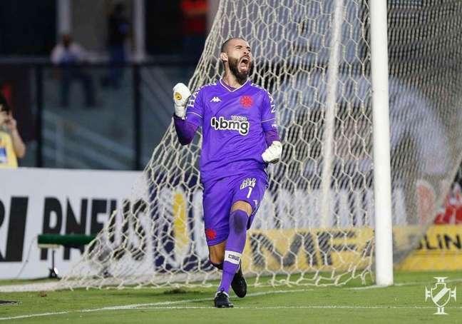Vanderlei vive momento de contestação como titular do gol do Vasco (Rafael Ribeiro/Vasco)