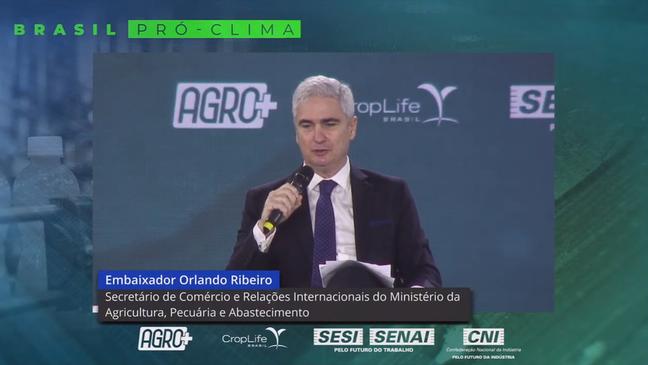 'Pressão internacional, sobretudo da União Europeia, veio após a conclusão das negociações do Acordo Mercosul-União Europeia', avaliou Ribeiro