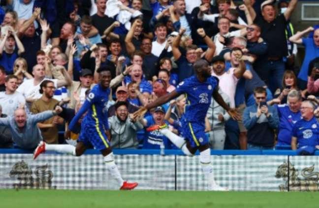 Lukaku é o grande nome do Chelsea (Foto: ADRIAN DENNIS / AFP)