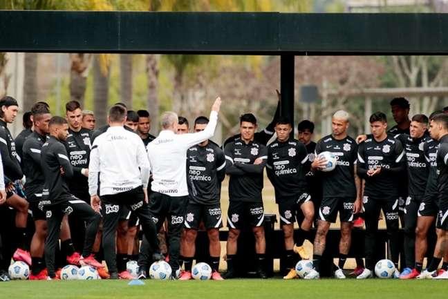 Corinthians volta aos treinamentos nesta quarta-feira (Foto: Rodrigo Coca/Ag. Corinthians)