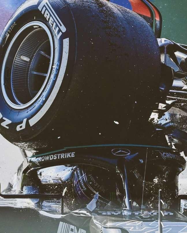 Lewis Hamilton x Max Verstappen: o acidente em Monza