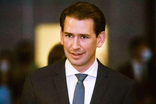O chanceler da Áustria, Sebastian Kurz