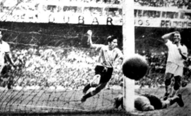 A derrota para o Uruguai com