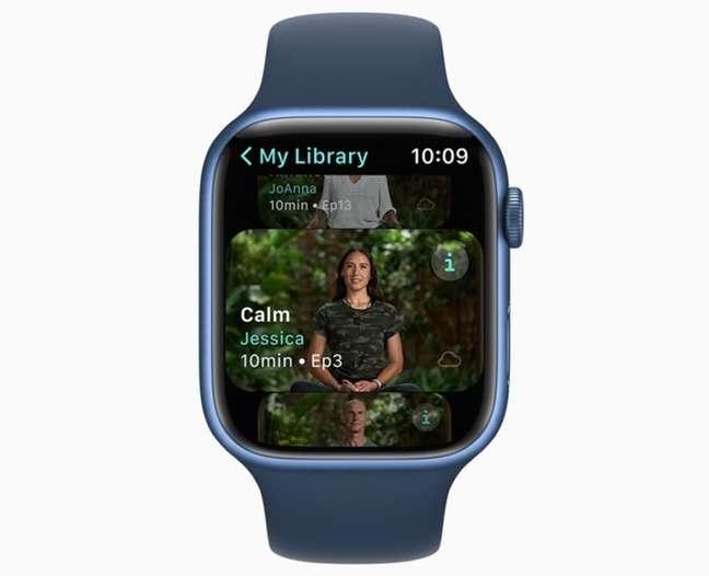 Meditação no Apple Fitness+