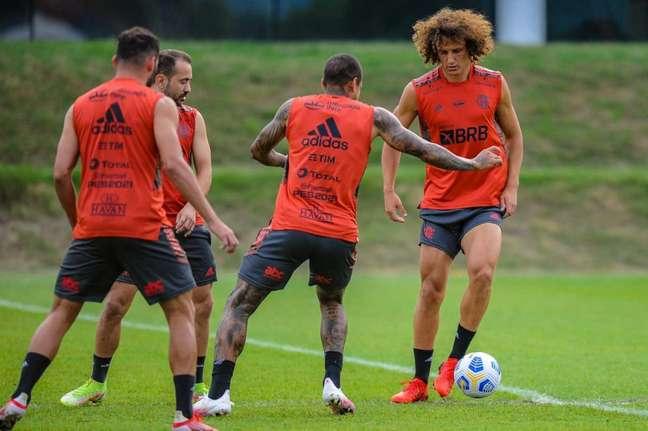 David Luiz deve ficar a serviço de Renato Gaúcho já em setembro (Foto: Marcelo Cortes/Flamengo)